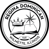 Regina Dominican College Preparatory High School logo