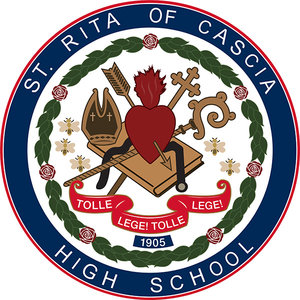 St. Rita of Cascia High School logo